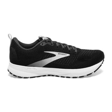 Men's Brooks Revel 4 - Black Pearl White