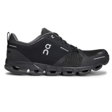 Women's ON Cloudflyer Waterproof - Black Lunar