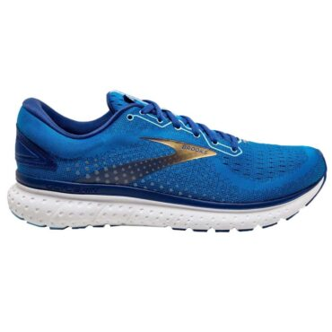 Men's Brooks Glycerin 18 - Blue/Mazarine/Gold
