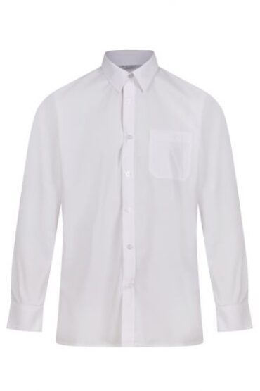 Boys Shirts -  White/Blue