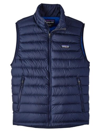 Patagonia Down Sweater Vest classic navy Blue