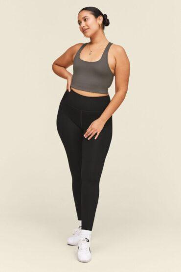 Girlfriend Collective - Black Compressive High-Rise Legging