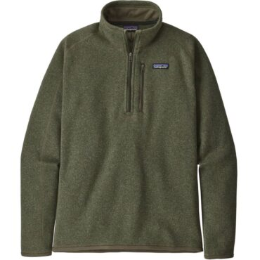 Men's Patagonia Men's Better Sweater 1/4-Zip Fleece