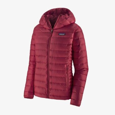 Patagonia Jacket Women's Down Sweater Hoody - Roamer Red