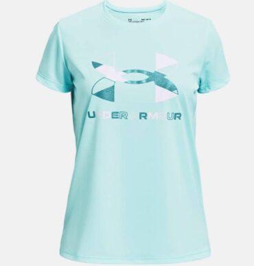 Girls Under Armour - Big Logo Short Sleeve T-shirt
