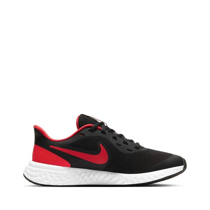 Nike_Revolution_5_Big_kids_Black_Red_White