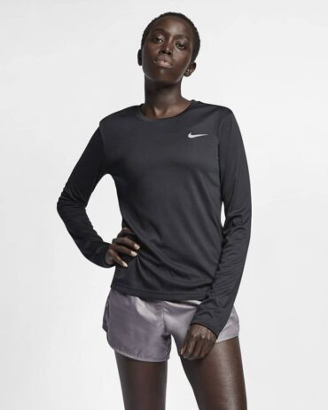 Nike Women's Miler Long Sleeved Running Top