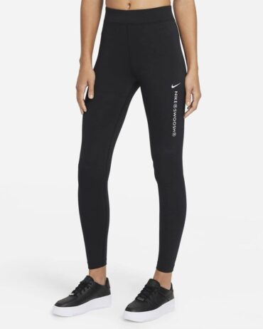 Nike Women's Swoosh High Rise Leggings