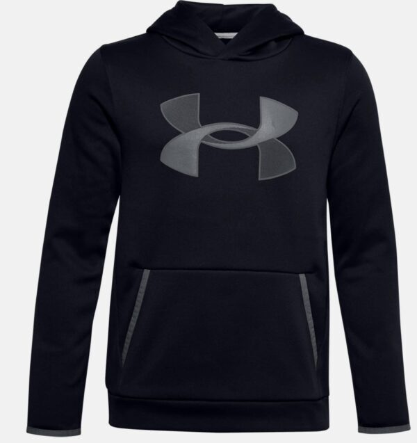 Under_Armour_Boys_Fleece_Big_Logo_Hoodie_Black