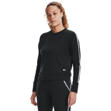 Women's Under Armour- Rival Taped Crew Sweater
