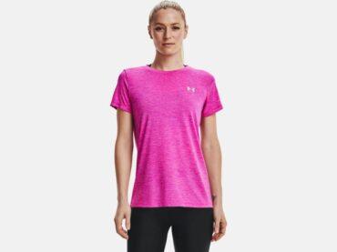 Women's Under Armour -  Tech Twist T-Shirt Pink