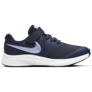 Girls Nike Star Runner - Blue Purple