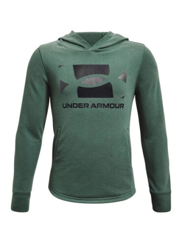 Under Armour Boys - Rival Terry Hoodie Green