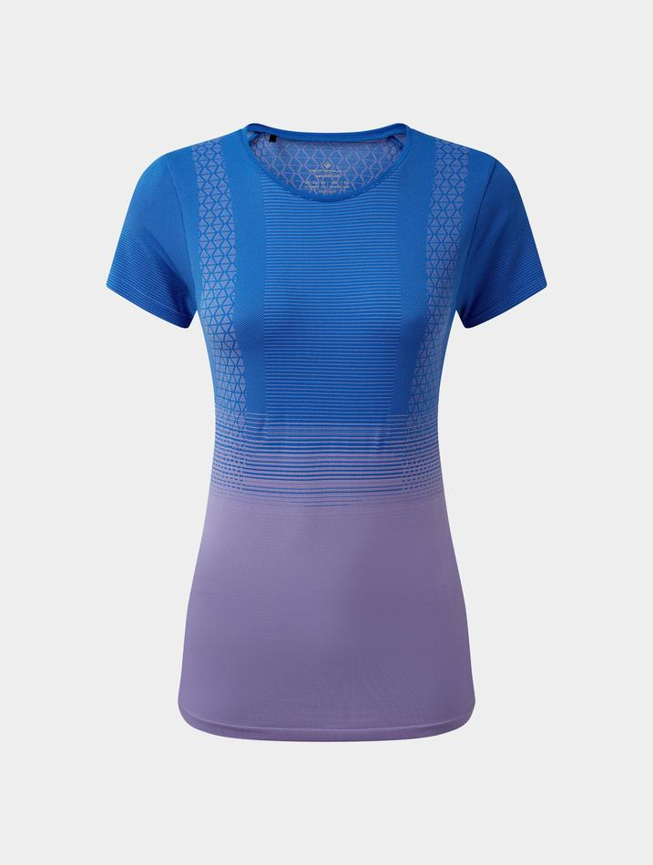 Ronhill_Womens_Tech_Marathon_Short_Sleeve_Tee_Azurite_Lilac
