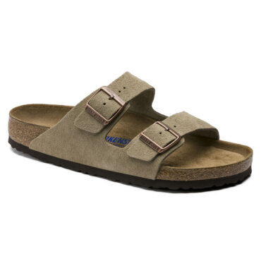 Birkenstock Arizona Soft Footbed - Seude Leather Taupe