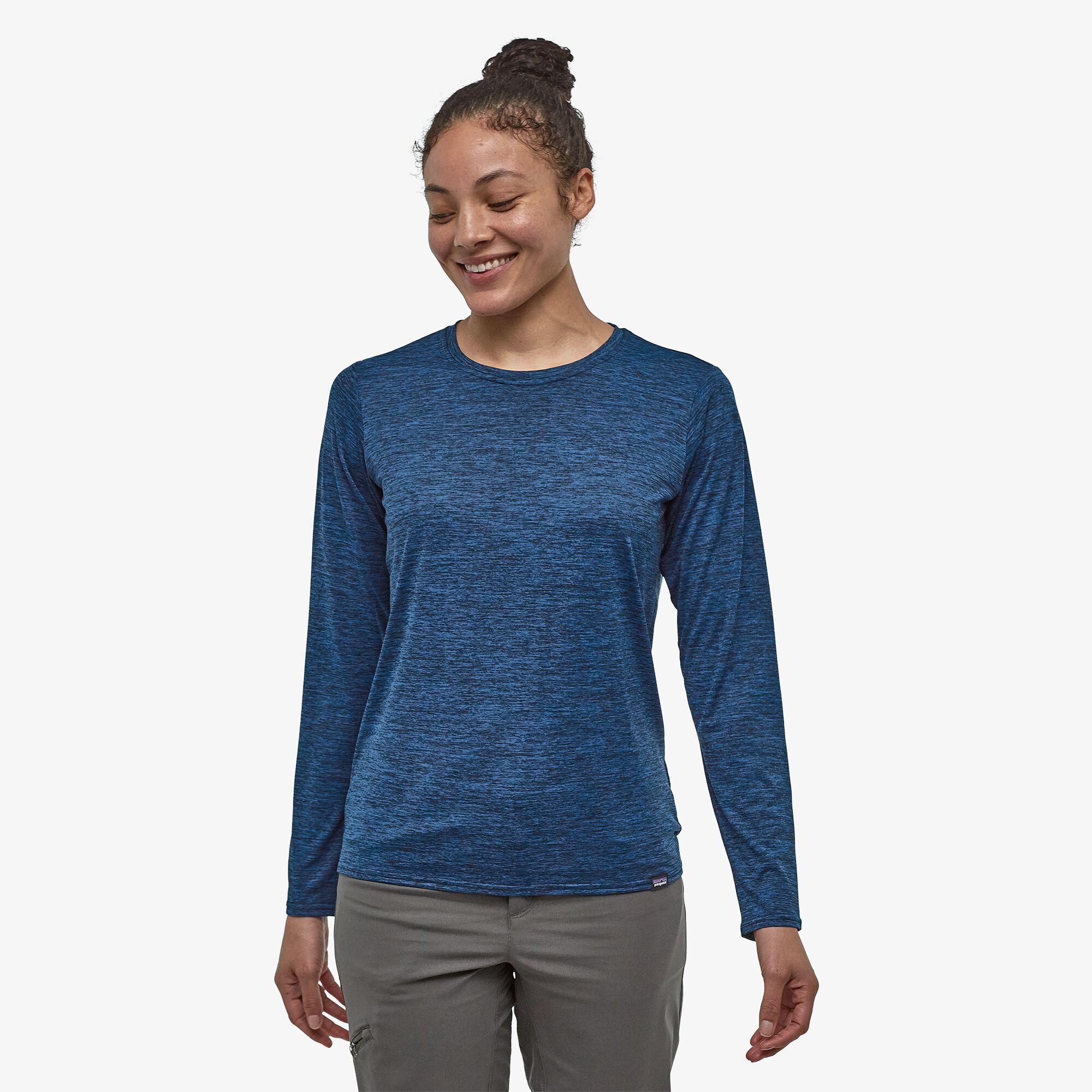 Patagonia_Women's_Long-Sleeved_Capilene_Cool_Daily_Shirt_Model